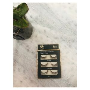 3 Piece Set of Faux Lashes
